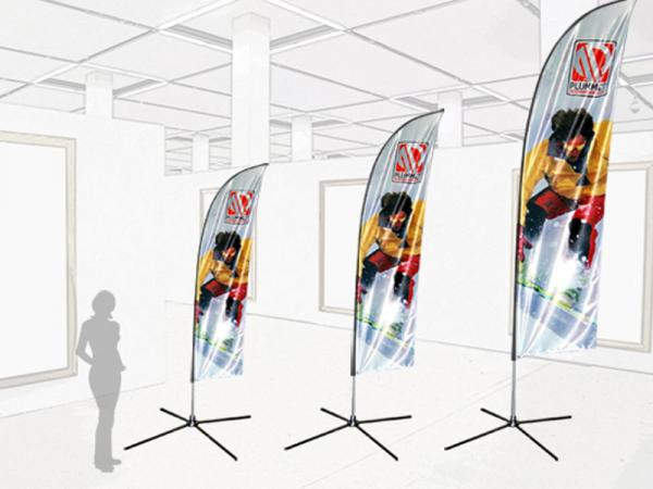 Three Great Heights - Use outdoor with included rotating ground stake or ask about the  optional indoor stand