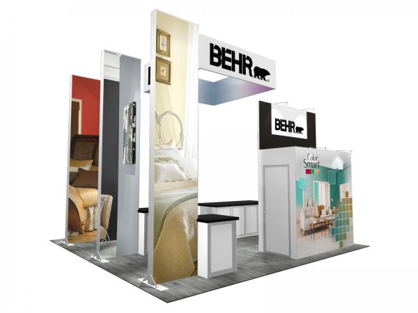 RE-9084 BEHR Trade Show Rental Exhibit -- Image 3