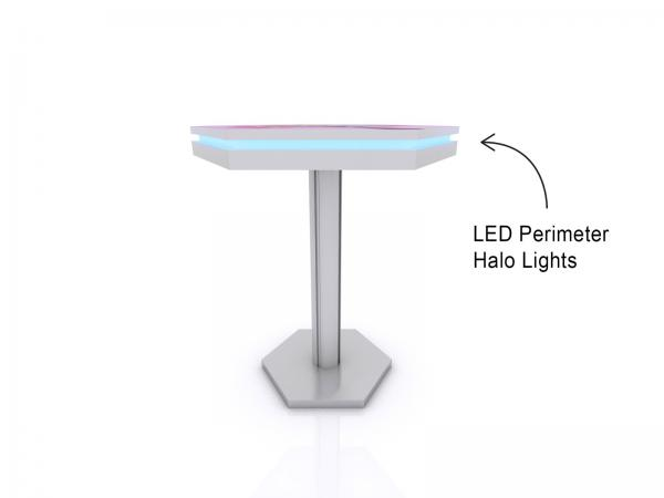 MOD-1465 Wireless Trade Show and Event Charging Bistro Table -- Image 2