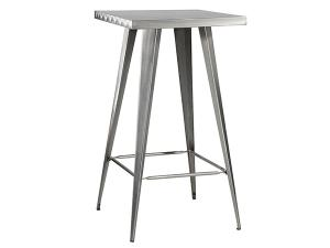 Rustique Square Metal Bar Table -- Trade Show Furniture Rental
