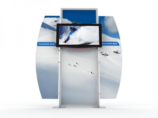 MOD-1518 Monitor Stand for Trade Shows and Events -- Image 2