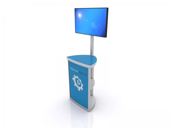 MOD-1561 Trade Show Monitor Stand -- Image 1