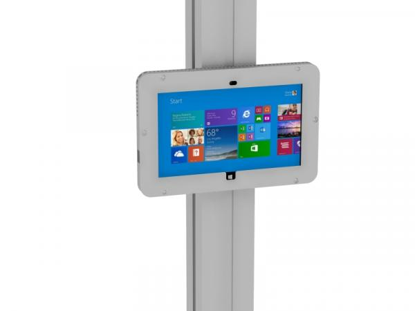 MOD-1318M Secure Surface 2 Enclosure with Extrusion Attachment -- Silver