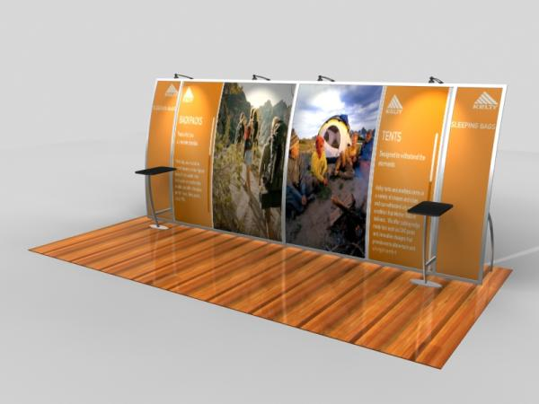 VK-2092 Portable Trade Show Display