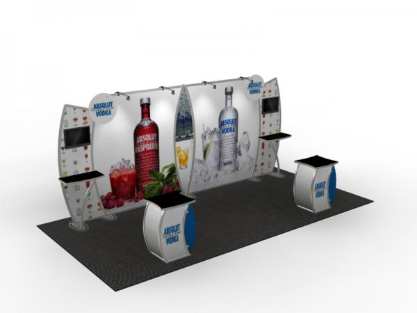 VK-2908 Trade Show Display -- 10 x 20