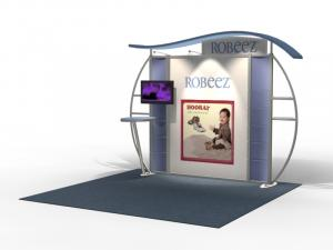 VK-1313 Trade Show Exhibit with Silicone Edge Graphics (SEG) -- Image 1