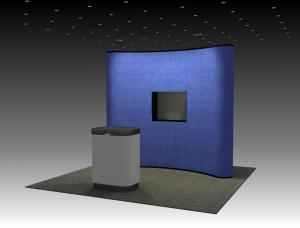 QD-105 Trade Show Pop Up Display