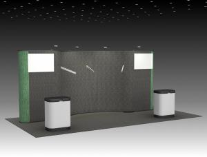 QD-217 Tradeshow Pop Up Display