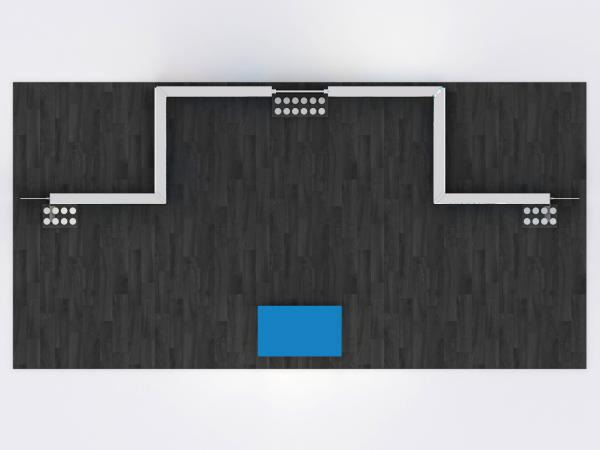 MOD-1640 SuperNova LED Lightbox -- Plan View